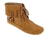 Women's Peace-Mocs Ankle-Hi Fringe Boot